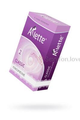 Презервативы ''Arlette'' №6, Classic Классические 6 шт.