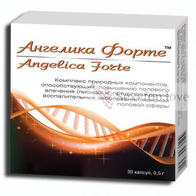 Возбуждающие капсулы для женщин Angelica Forte 30 шт.