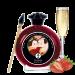 7002 Съедобная краска для тела, вкус клубника, 100мл. Shunga