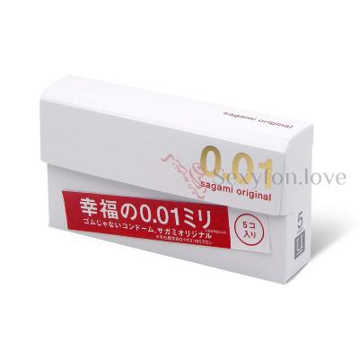 619245 Презервативы полиуретановые Original Sagami, 001 мм (5 шт)