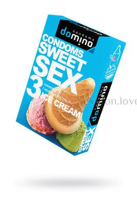 Презервативы Luxe DOMINO SWEETSEX, мороженое №3