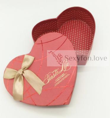 187-4 Коробка в форме сердца Taste Life