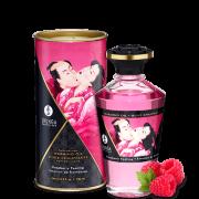 "Массажное масло с афродизиаком Shunga ""Aphrodisiac Warming oil"" (Raspberry Feeling), 100 мл."