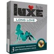 ПРЕЗЕРВАТИВЫ LUXE BIG BOX LONG LOVE