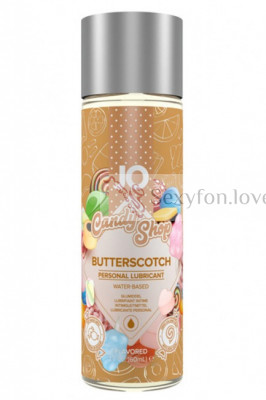 Вкусовой лубрикант Candy Shop Butterscotch (ириски) 60 мл   SYSTEM JO