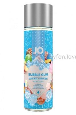 Вкусовой лубрикант  Candy Shop Bubble Gum (жвачка) 60 мл