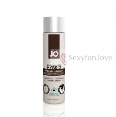 Вкусовой лубрикант JO Coconut 30 ml, System JO H20 с охлаждающим эффектом