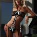 148-41 Сексуальный наряд с подвязками