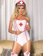 Костюм медсестры с чепчиком