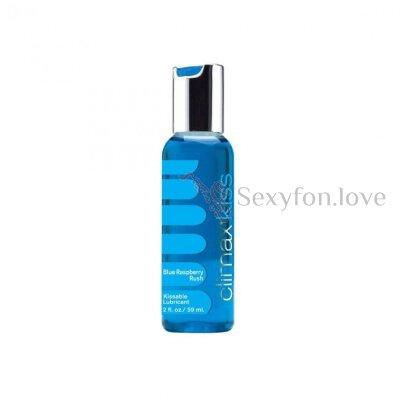 1030259 Вкусовой лубрикант Climax Kiss с ароматом синей малины (70 мл)