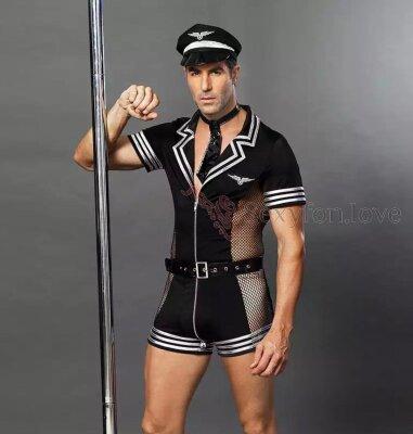 09-05 сексуальный костюм пилота