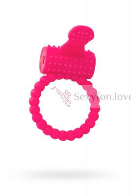 Эрекционное кольцо на пенис, Силикон, Розовый, 3,5 см