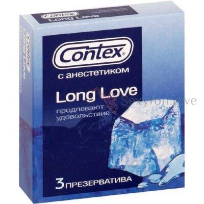 515368 Презервативы с анестетиком Contex Long Love