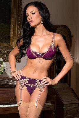 150-51 Комплект нижнего белья, фиолетовый