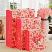 Пакет подарочный Forever Love, средний