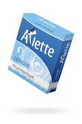"ПРЕЗЕРВАТИВЫ ""ARLETTE"" №3, LONGER ПРОДЛЕВАЮЩИЕ 3 ШТ."