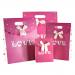 180-8 Пакет подарочный LOVE (малый)