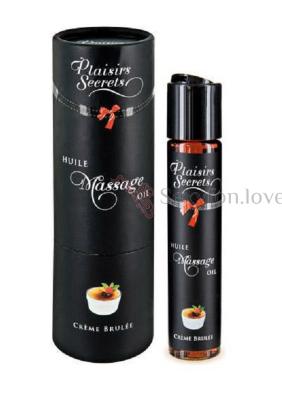 826005 Массажное масло Plaisirs Secrets, аромат крем-брюле