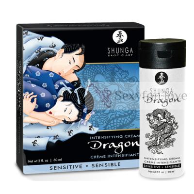 """5220 Интимный мужской крем """"Dragon SENSITIVE"""""""