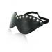 234-17 Кожаная маска с клепками