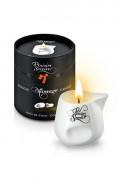 Свеча с массажным маслом Plaisirs Secrets (кокос), 80 мл