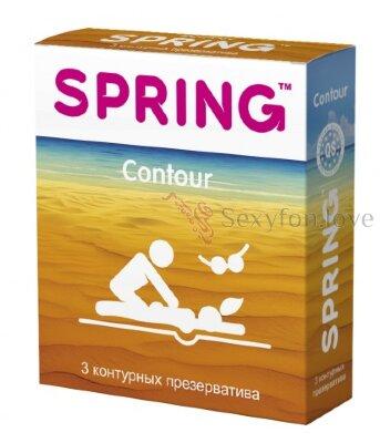 00175 Контурные презервативы SPRING Contour (3 шт)