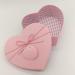 187-2 Коробка в форме сердца розовая/голубая (средняя)