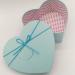 Коробка в форме сердца розовая/голубая (большая)