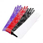 Перчатки Ажурные Длинные