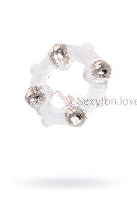 Эрекционное кольцо Seven Creations, TPE, 4 см.