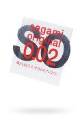 Презервативы SAGAMI ORIGINAL 0.02 ультратонкие 1шт.