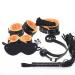 135-26 Набор BDSM, черно-оранжевый