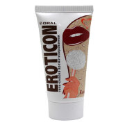 Гель-смазка Eroticon со вкусом кокоса, 50 мл.