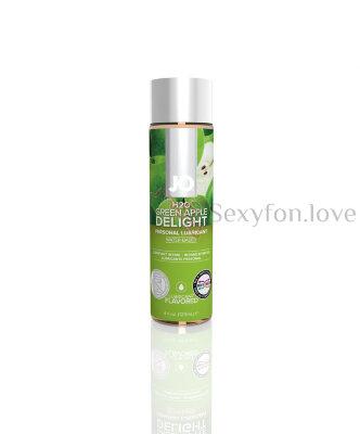 Вкусовой лубрикант Flavored Green Apple 30 ml, System JO H20