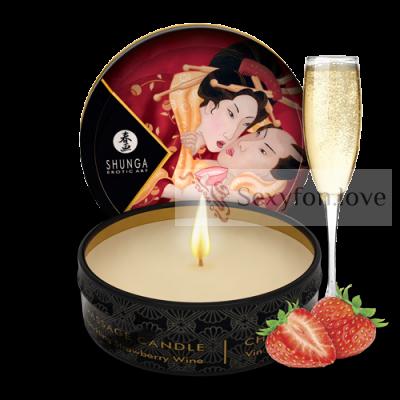 Свеча-массажное масло Romance /Shunga/ 30 мл., Канада