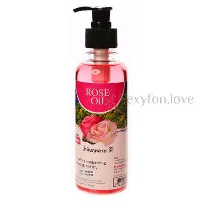 Массажное масло с ароматом розы (Тайланд), 450 мл