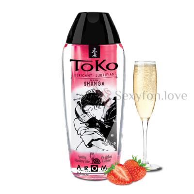 6401 Лубрикант TOKO Клубничное шампанское, 165 мл