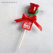 Леденец в форме розы